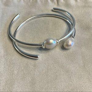 Kendra Scott Pearl Bracelet Set